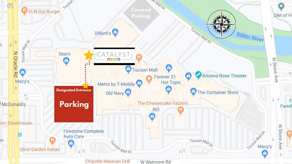 Catalyst Parking Map